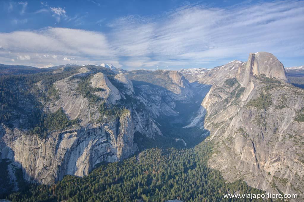 Que ver en el Yosemite National Park- Glacier view