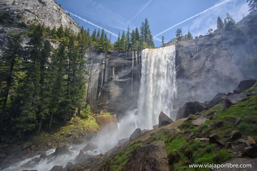 Rutas en Yosemite National Park - Parque Nacional Yosemite