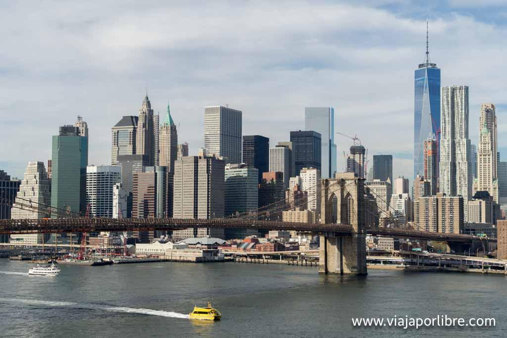 Desde el Puente de Manhattan