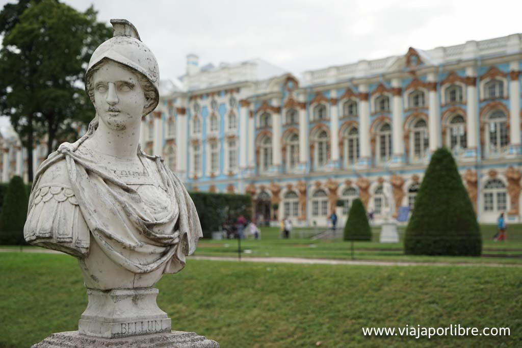 San Petersburgo - Palacio de Pushkin