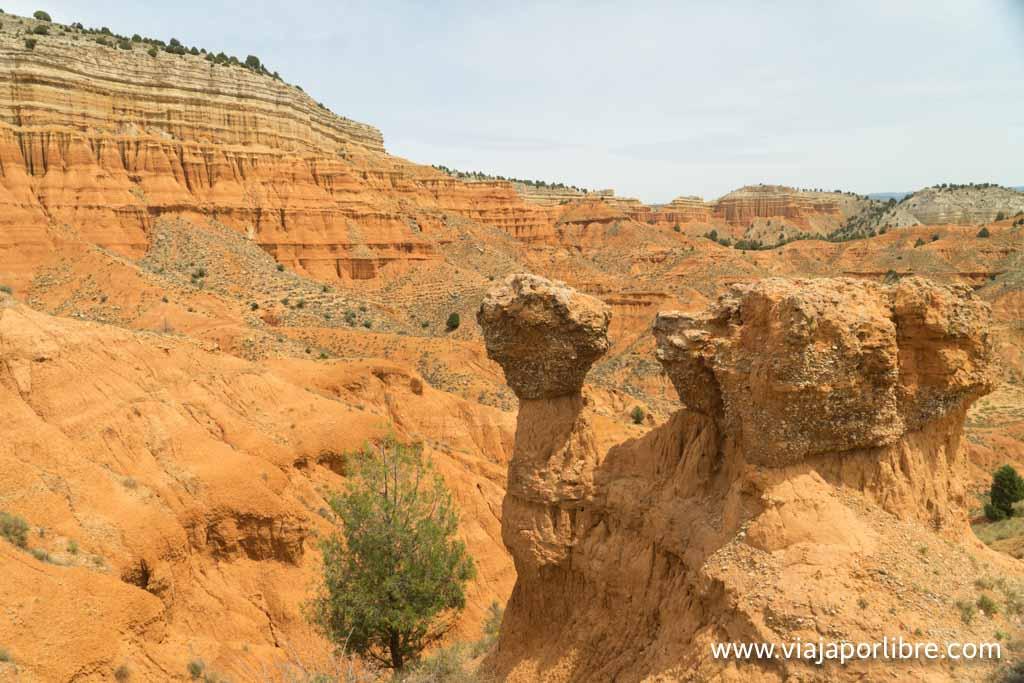Rambla de Barrachina, el Far West de Teruel