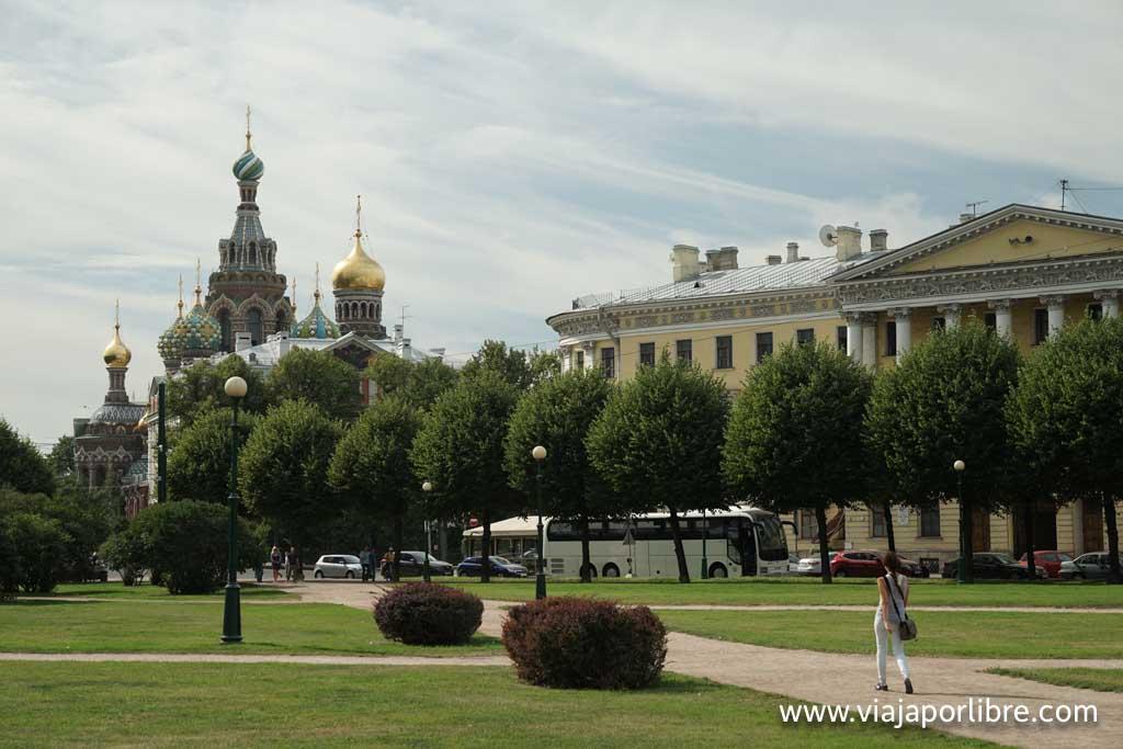 San Petersburgo - Campo de Marte
