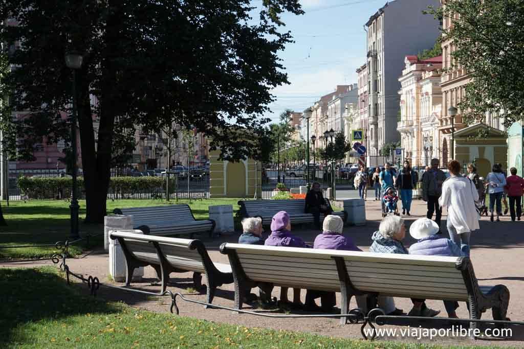 San Petersburgo - Jardín de Verano