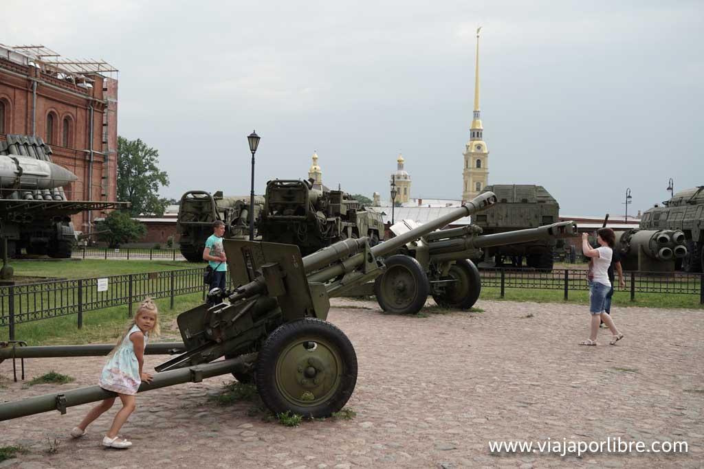 San Petersburgo - Museo de artillería