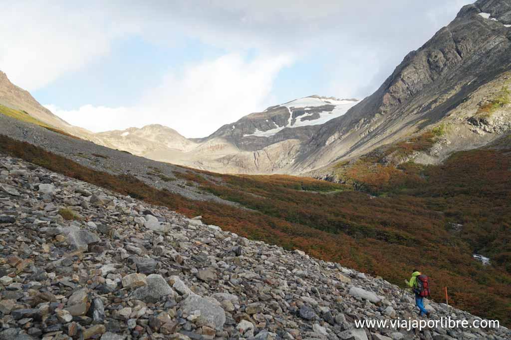 Torres del Paine - Ruta O -Campamento los Perros - Refugio Grey