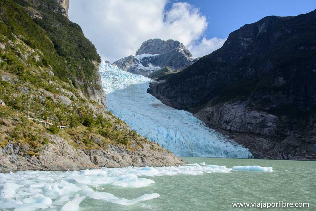 Glaciares de Chile, Balmaceda y Serrano