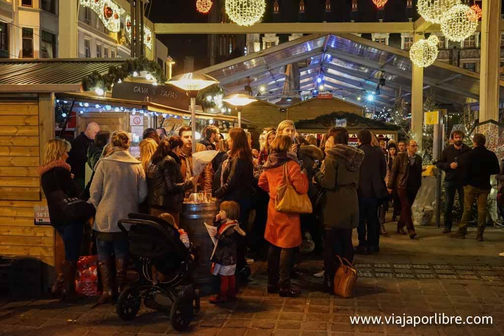 Mercadillos de Navidad en Flandes