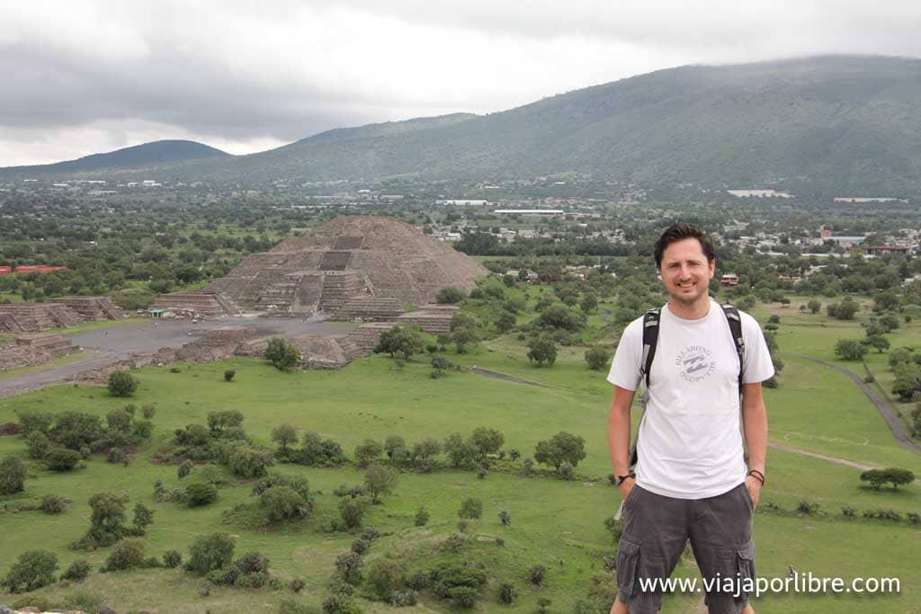 Teotihuacán (Pirámide del Sol)