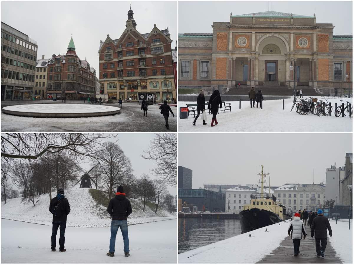 Copenhague en invierno