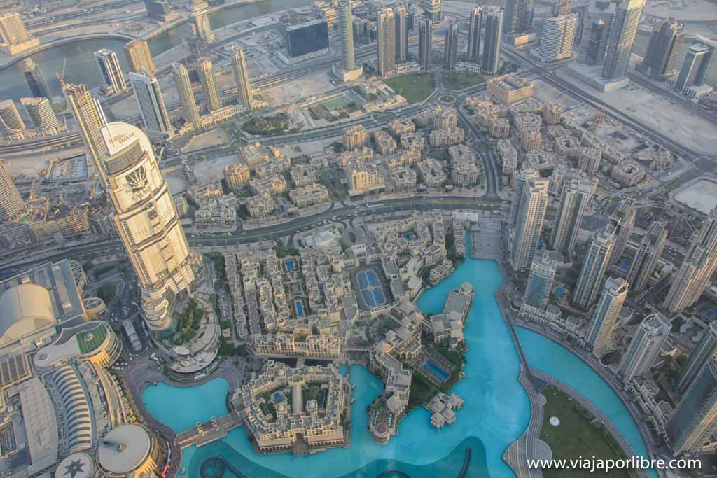 El edificio mas alto del mundo - Burj Khalifa - Dubai