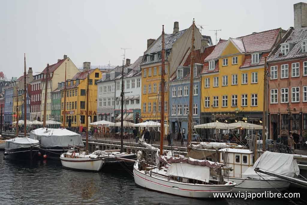 Copenhague en invierno (Nyhavn)