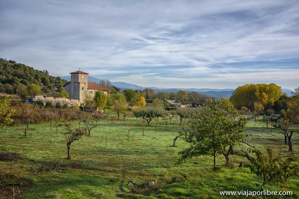 Lanchamala, el mejor mirador de Navaluenga en Gredos