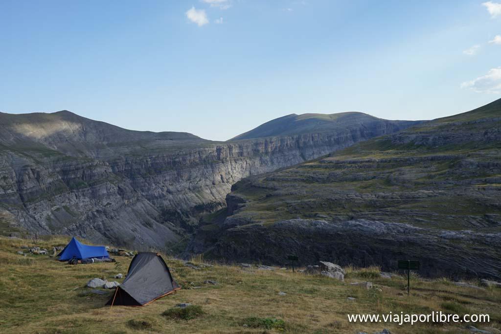 Material para ir de acampada