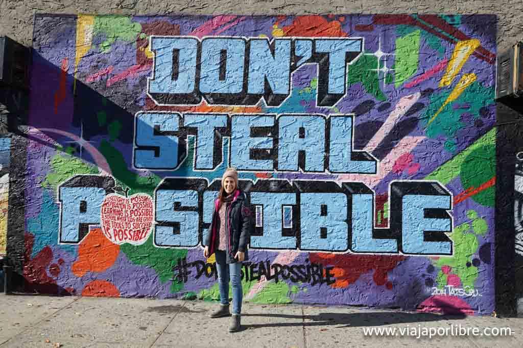 Graffitis en el Bronx