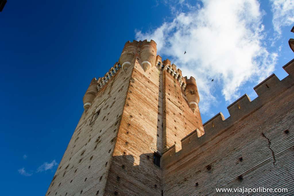 El castillo de la Mota en Medina del Campo