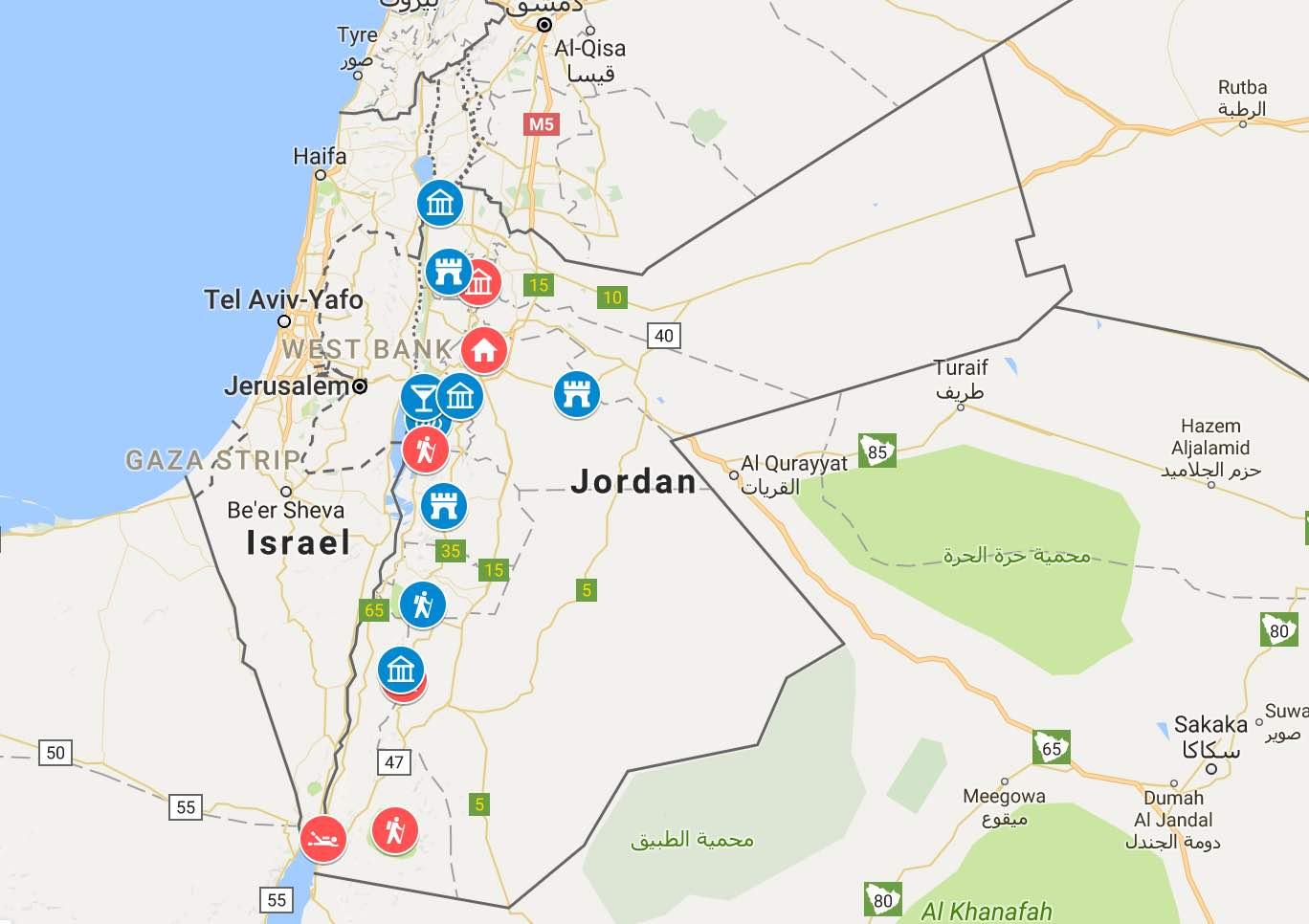 Preparativos para viajar a Jordania (Ruta de 10 días)