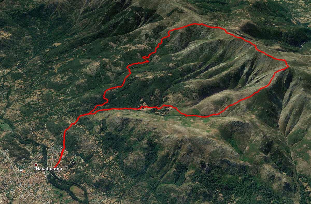 Mapa Lanchamala