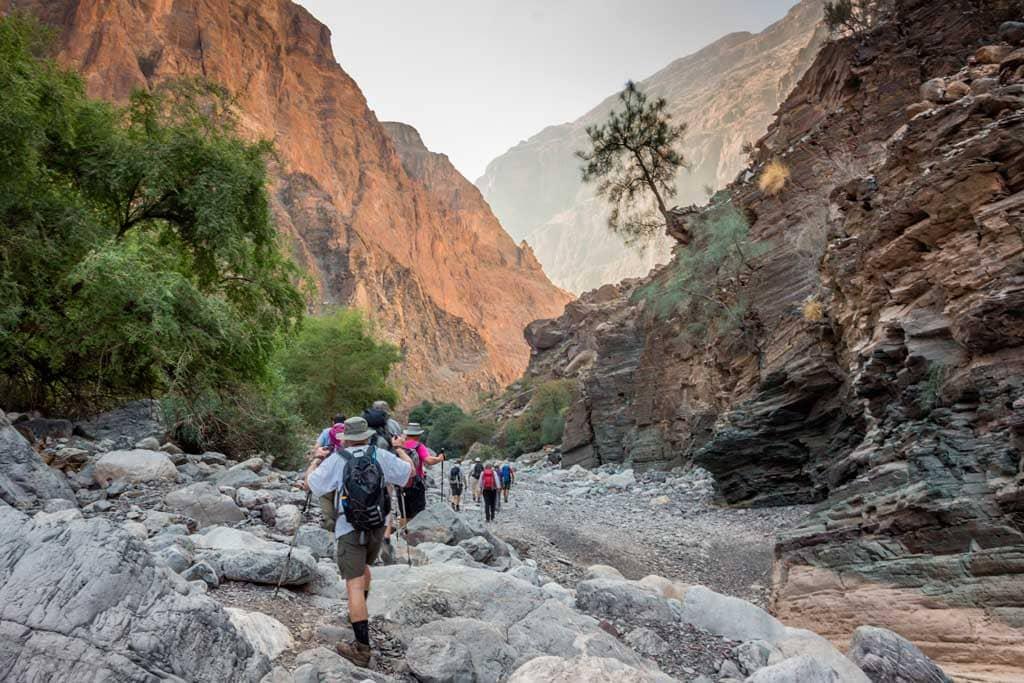 Senderismo en Omán (Fotografía cedida por Shutterstock)