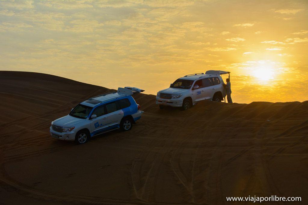 La excursión por el desierto de Dubai que no debes perderte