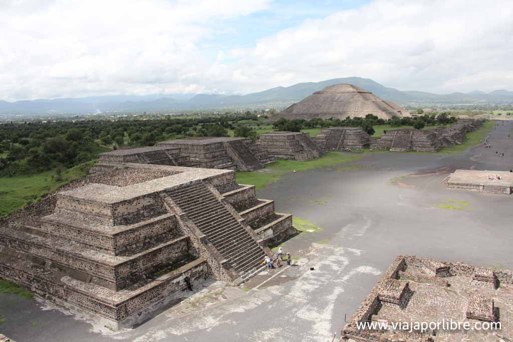 Teotihuacán (Pirámide de la luna)
