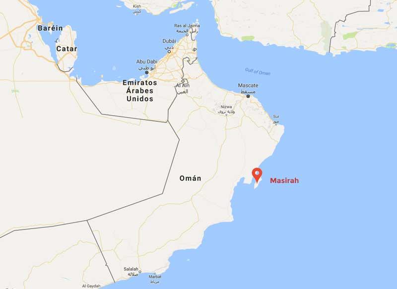 Omán y Masirah