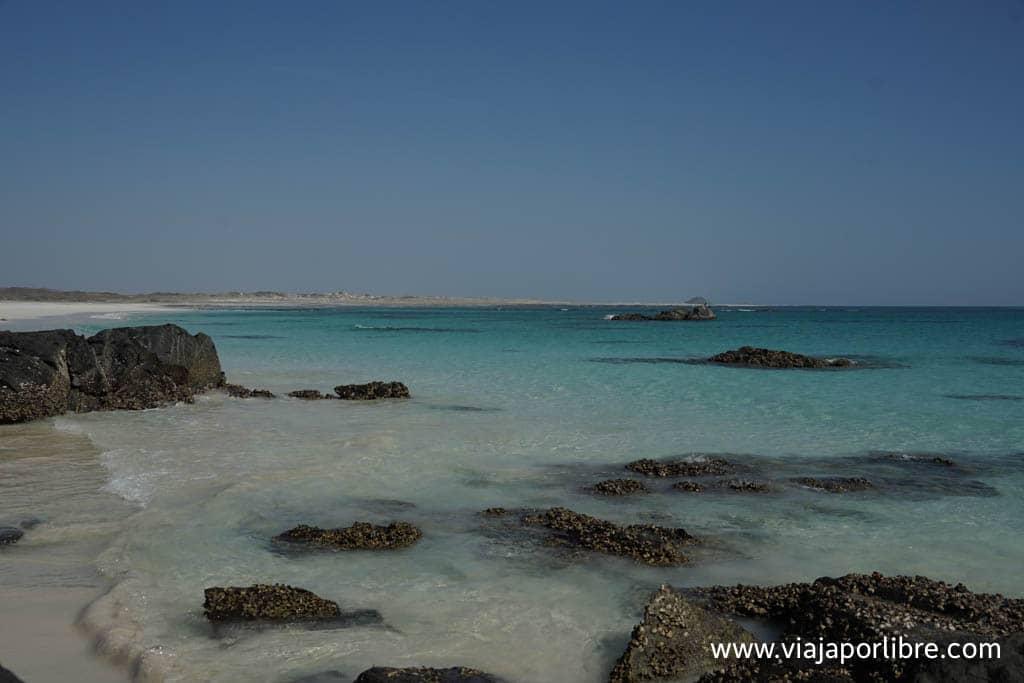 Playas de Masira