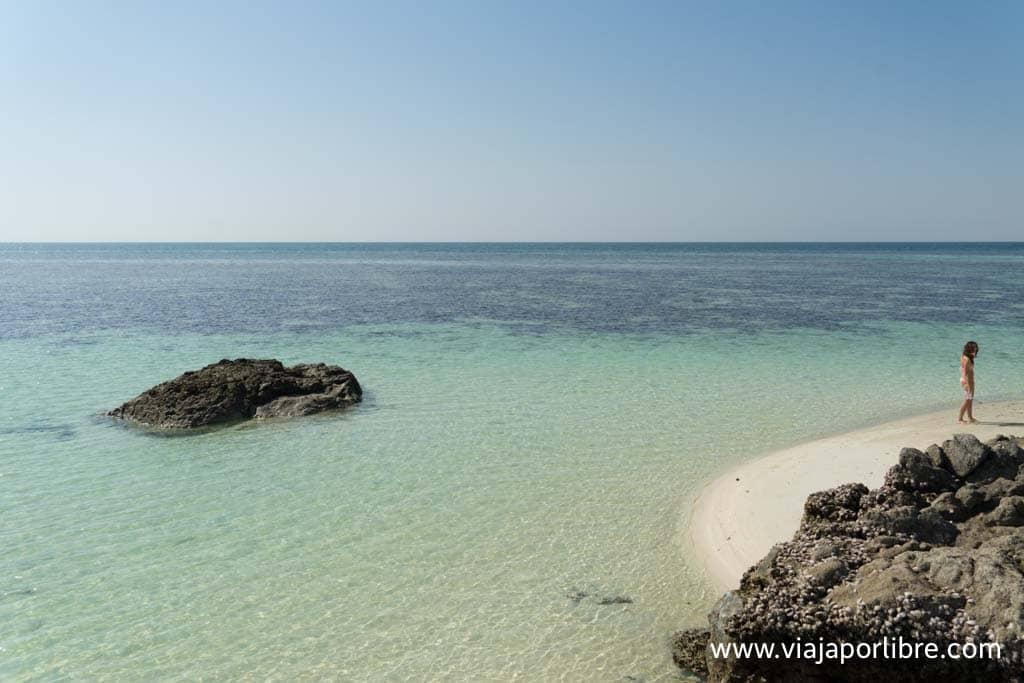 Playas de Masira de la costa oeste