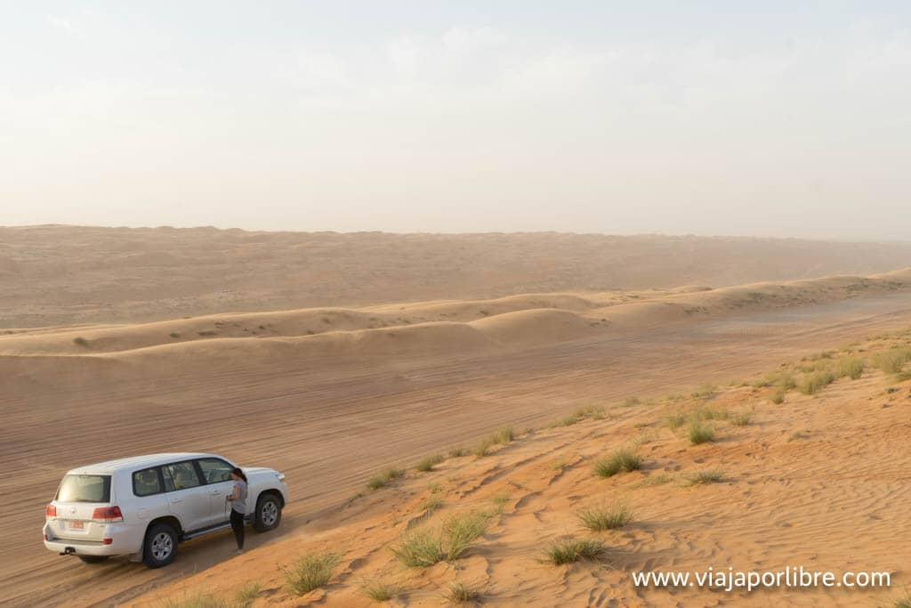 Desierto en Omán