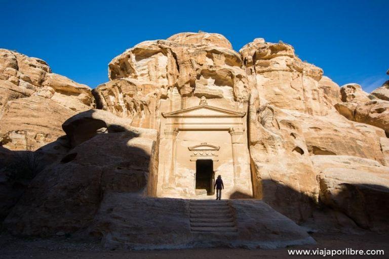 La maravillosa ruta entre Little Petra y Petra