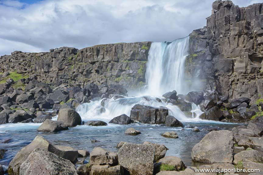La ruta del círculo dorado en Islandia