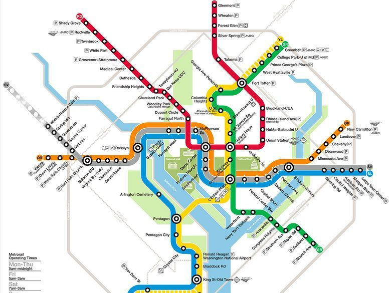 Metro de Washington DC