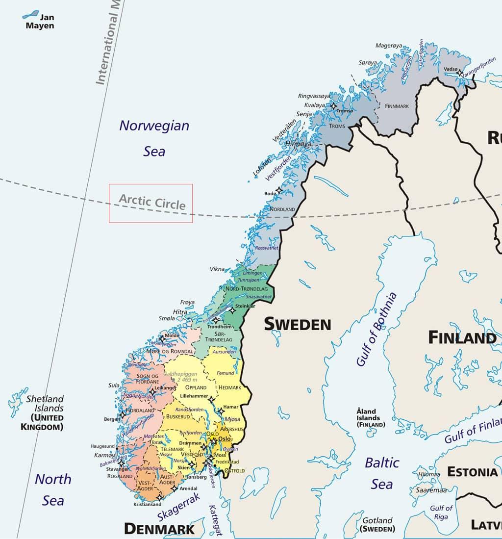 Circulo Polar Artico