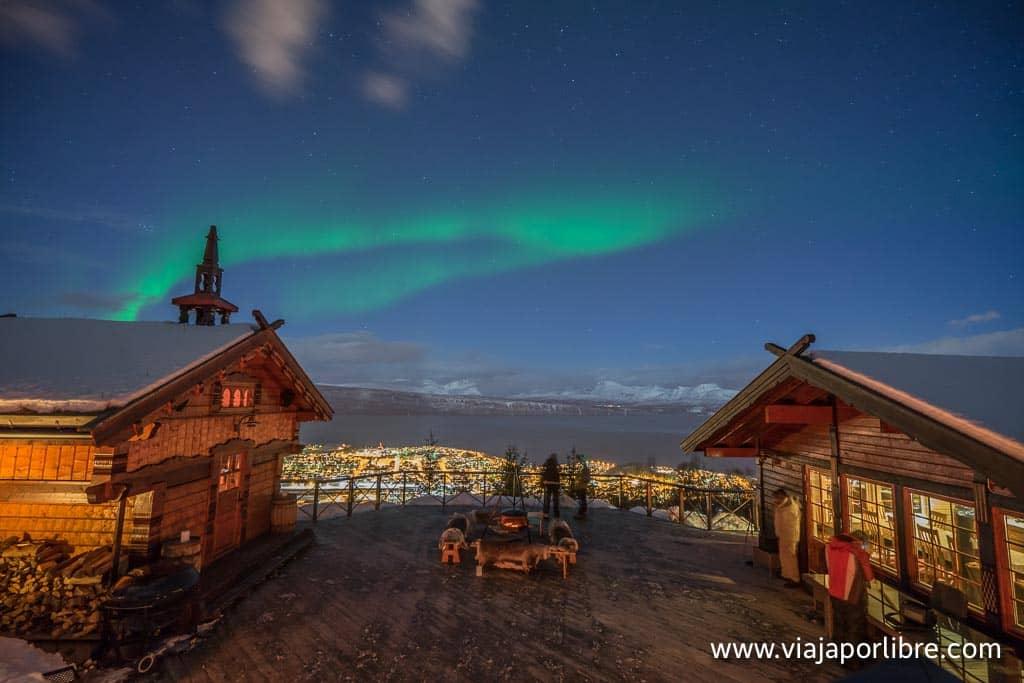 Auroras boreales en Narvik