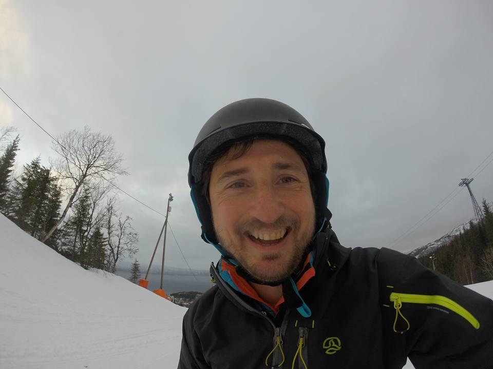 Snowboard en Narvik