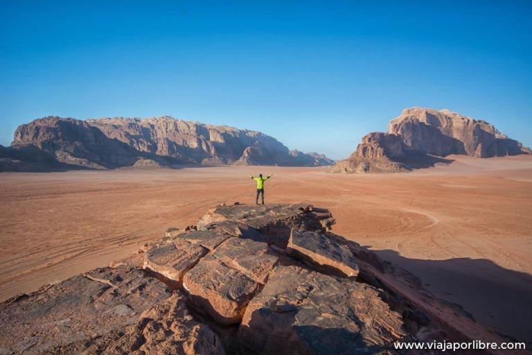 Las mejores rutas 4x4 por el desierto de Wadi Rum