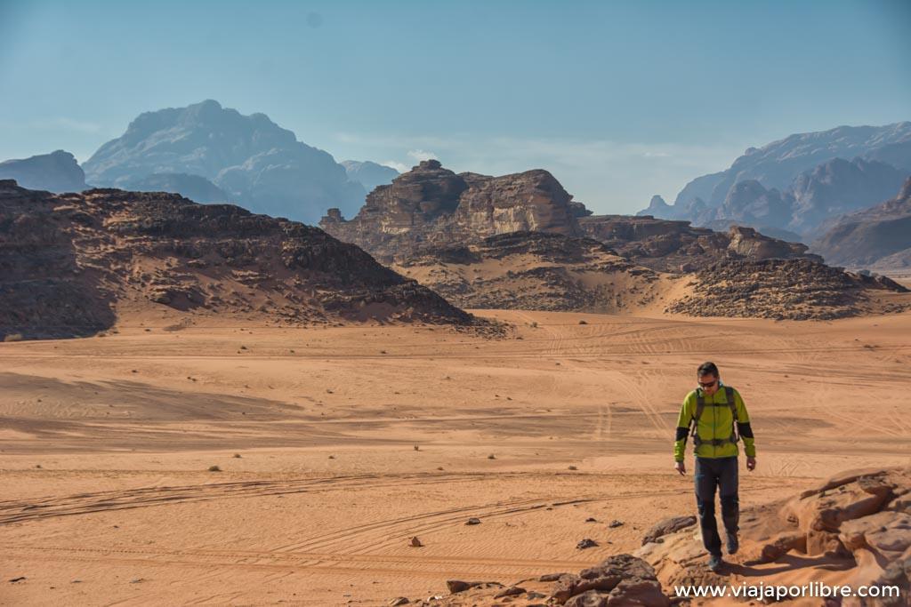 Trekking por el desierto
