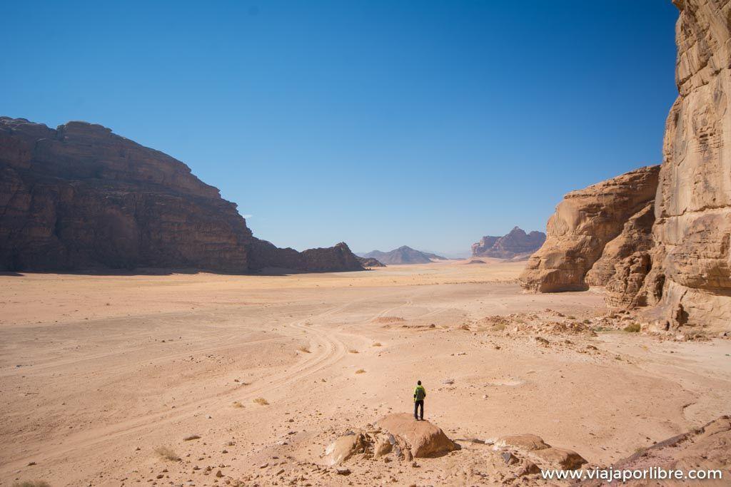 La inmensidad del desierto