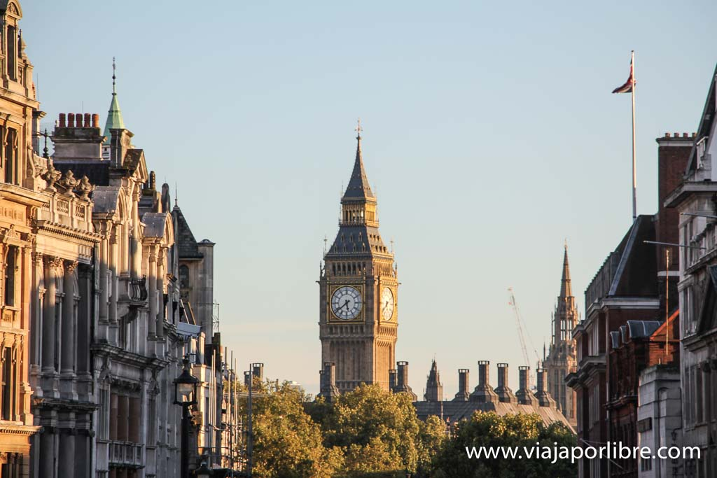 Ruta turística por Londres
