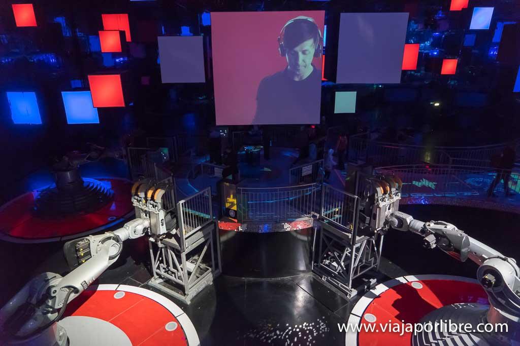Futuroscope - Danse avec les robots