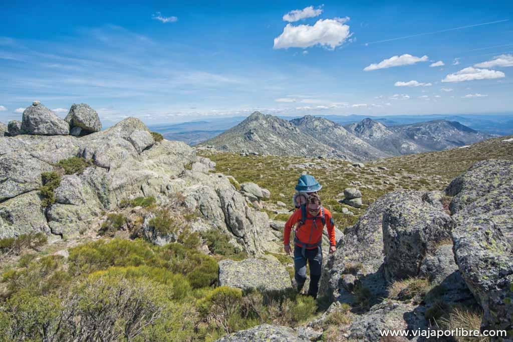 Ascensión al alto dela Hoya, las mejores vistas de la sierra de la Paramera
