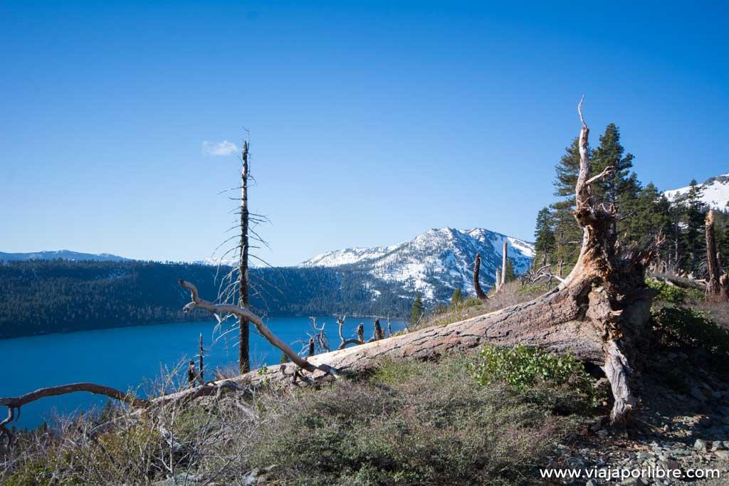 Las mejores vistas del Lago Tahoe, ascensión al monte Tallac