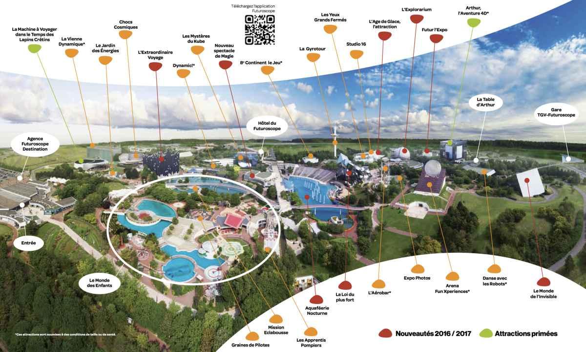 Plano de Futuroscope
