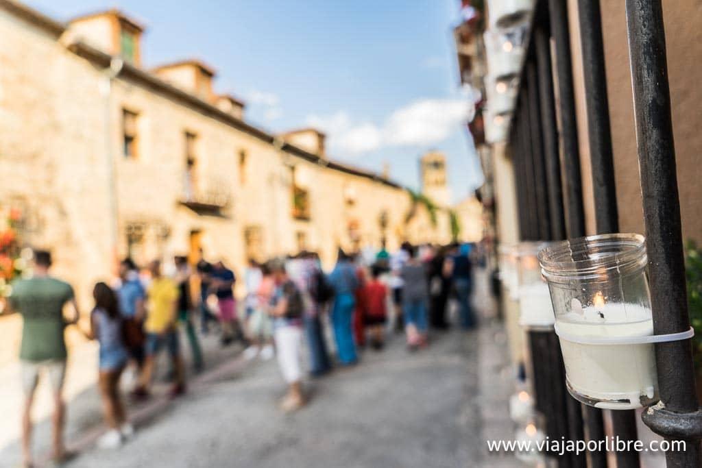 La calle mayor de Pedraza