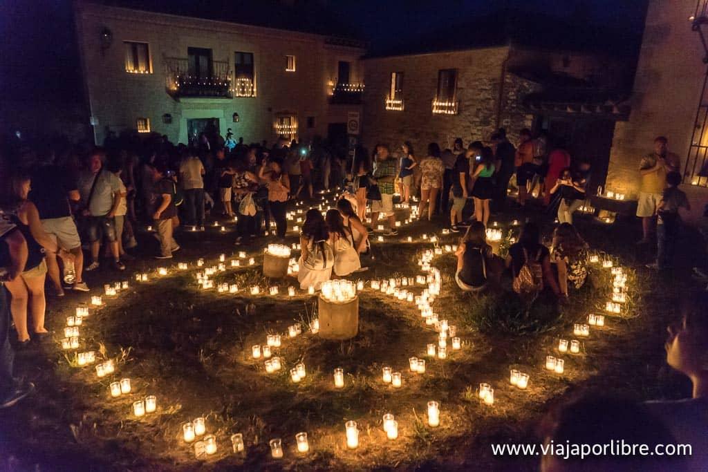 Noche de las velas de Pedraza