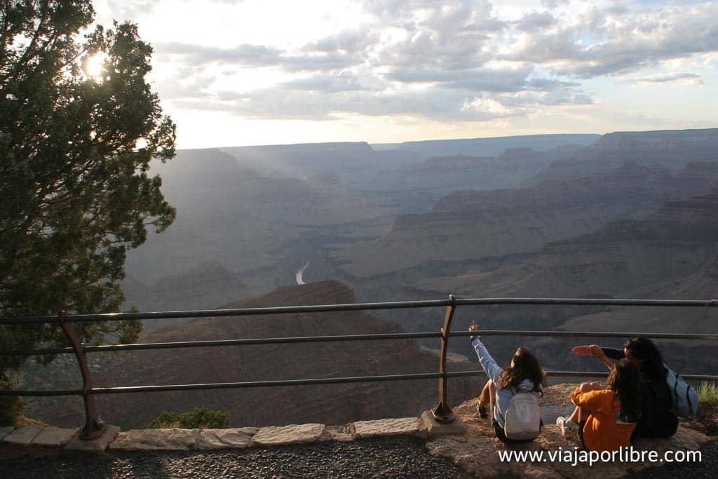 Miradores del Gran Cañón