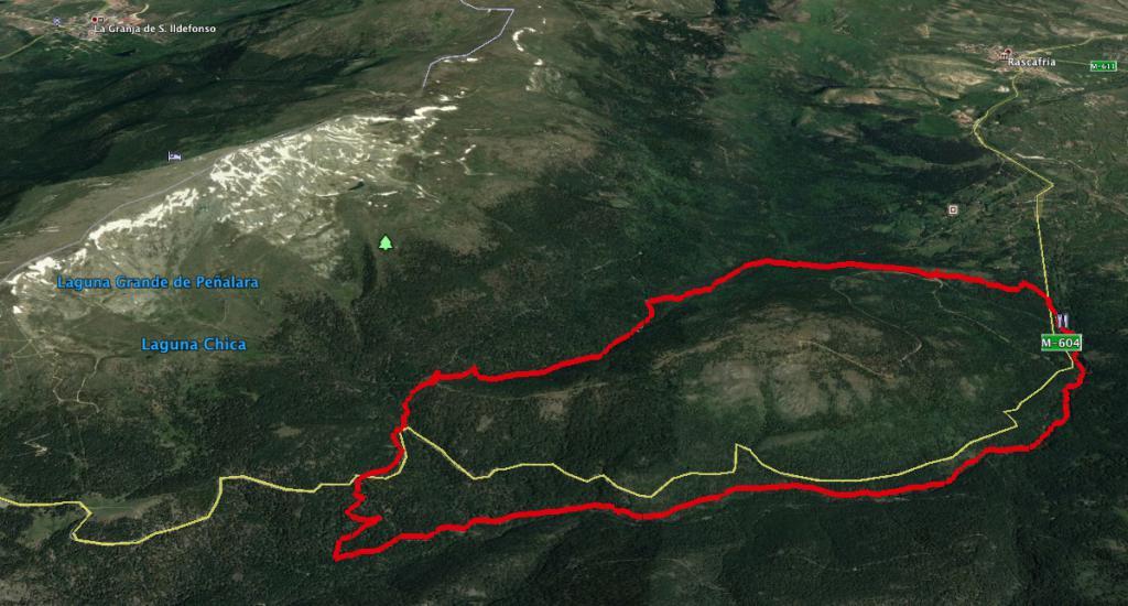 Ruta por Rascafría - Mapa