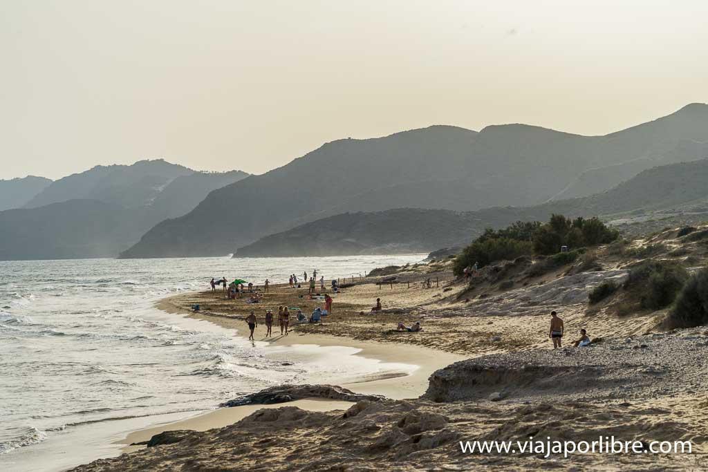 Playas en Calblanque
