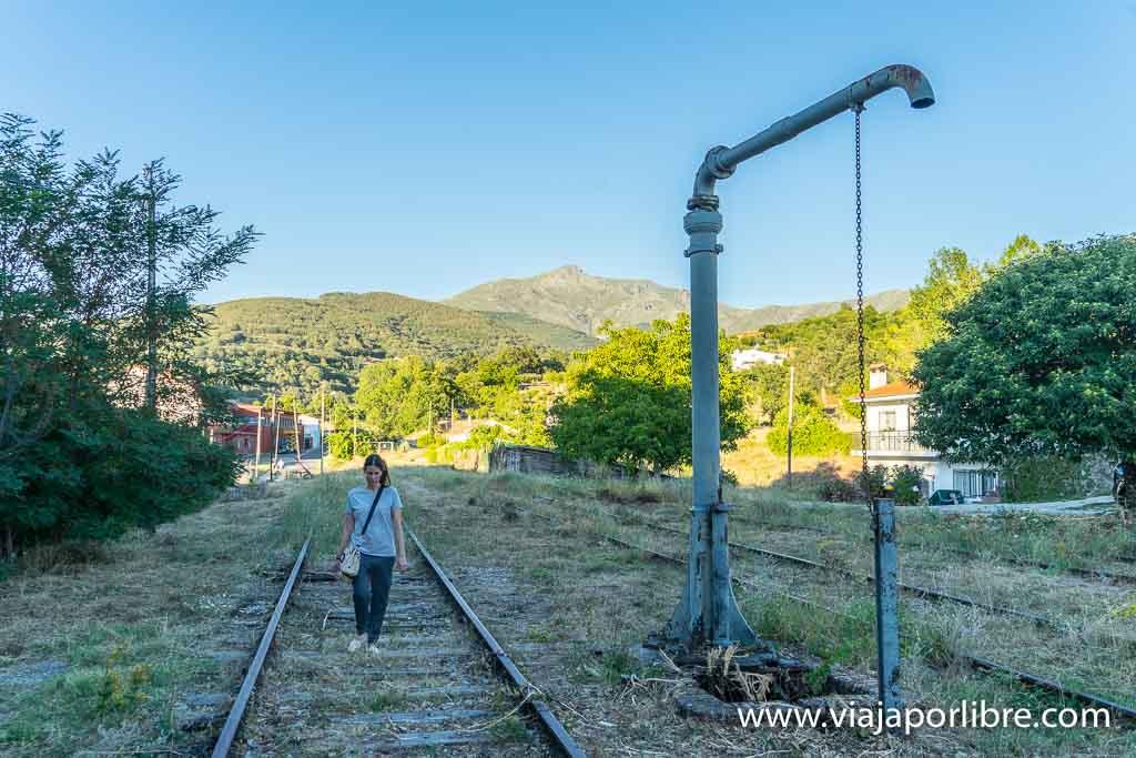 Estación de tren de Hervás