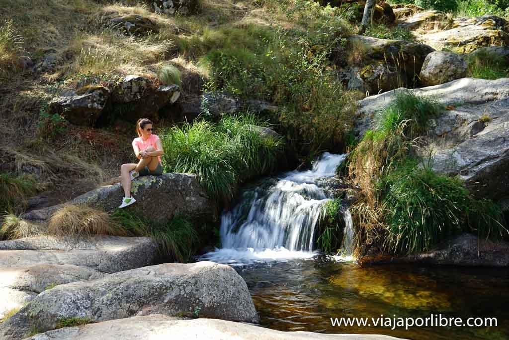 Piscinas naturales en el Valle de Ambroz