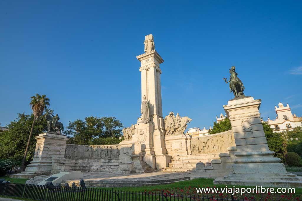 Cadiz - Plaza de España